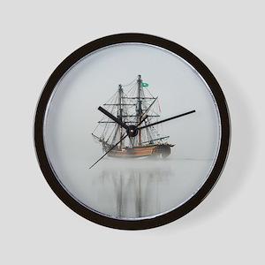 Foggy Morning - Wall Clock