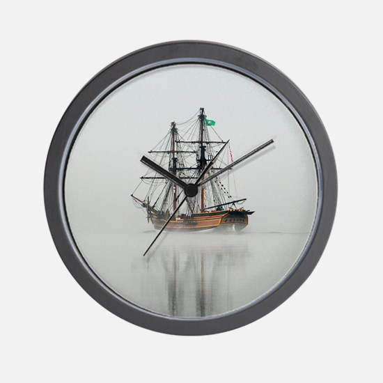 Foggy Morning - Wall Clock