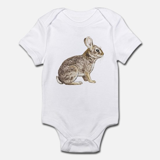 Cottontail Rabbit (Front only) Infant Bodysuit