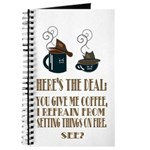 Coffee or Fire - your choice Journal