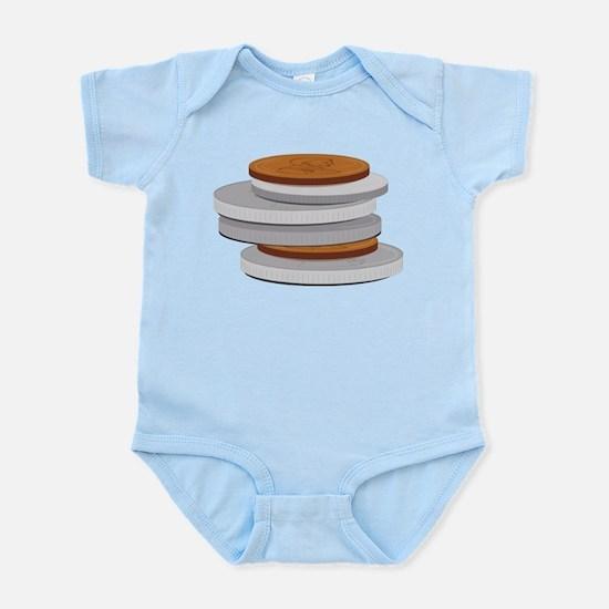 Coins Infant Bodysuit