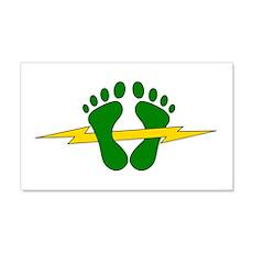 Green Feet - PJ Wall Decal