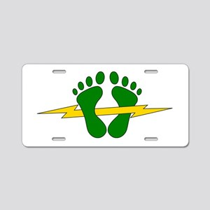 Green Feet - PJ Aluminum License Plate