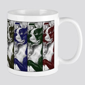 Boston Terrier Color Block Mug