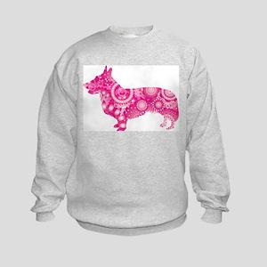 Cardigan Welsh Corgi Kids Sweatshirt