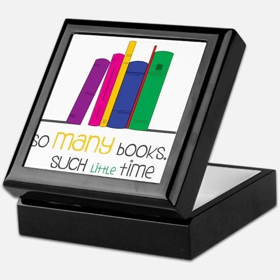 So Many Books Keepsake Box
