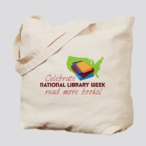 Library Week Tote Bag