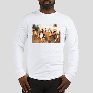 Aussies Playin' Poker Long Sleeve T-Shirt