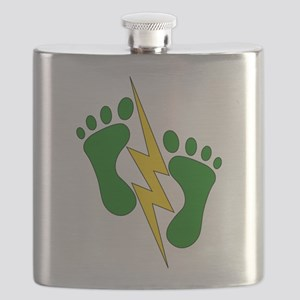 Green Feet 2 - PJ Flask