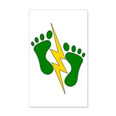 Green Feet 2 - PJ Wall Decal