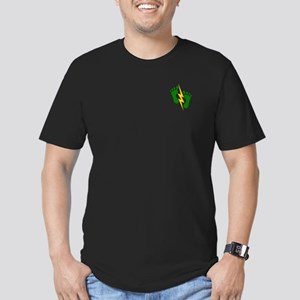 Green Feet 2 - PJ Men's Fitted T-Shirt (dark)