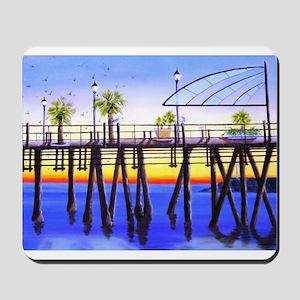 Redondo Beach Pier Mousepad