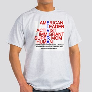Elvira Arellano Ash Grey T-Shirt