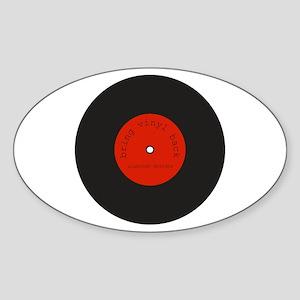 Bring Vinyl Back | Sticker (Oval)