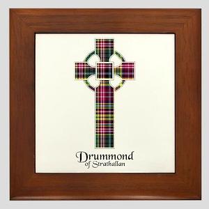 Cross - Drummond of Strathallan Framed Tile