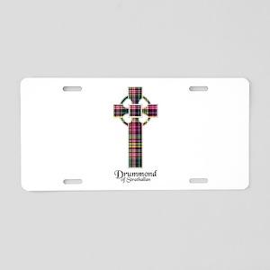 Cross - Drummond of Strathallan Aluminum License P