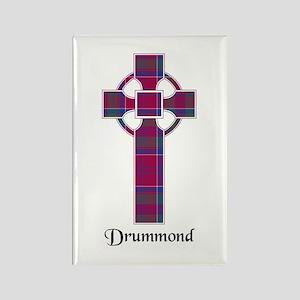 Cross - Drummond Rectangle Magnet