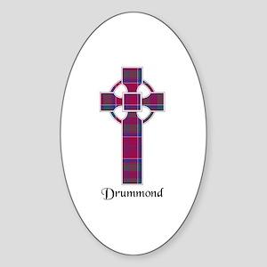Cross - Drummond Sticker (Oval)