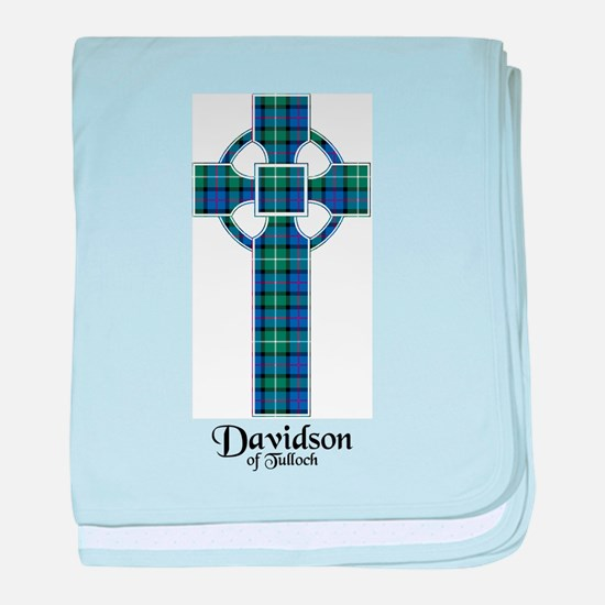 Cross - Davidson of Tulloch baby blanket