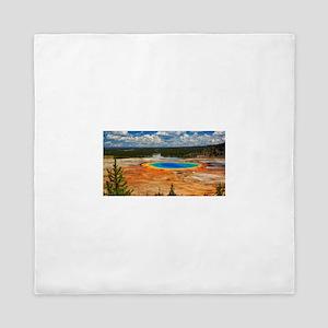 Yellowstone National Park Queen Duvet