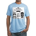 Stache Power Fitted T-Shirt