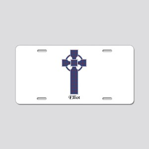 Cross - Elliot Aluminum License Plate