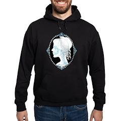 Pretty Skull Cameo Hoodie (dark)