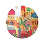 Jerusalem City Colorful Art 3.5