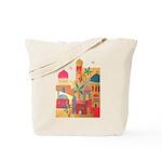 Jerusalem City Colorful Art Tote Bag