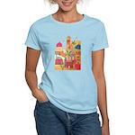 Jerusalem City Colorful Art Women's Light T-Shirt