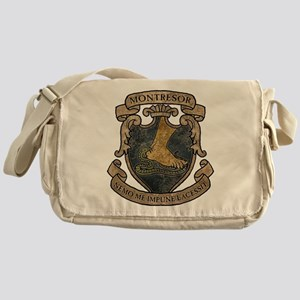 Montresor Coat Of Arms Messenger Bag