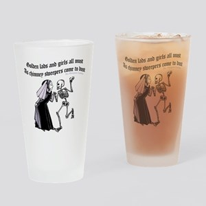 Golden Lads Come To Dust Drinking Glass
