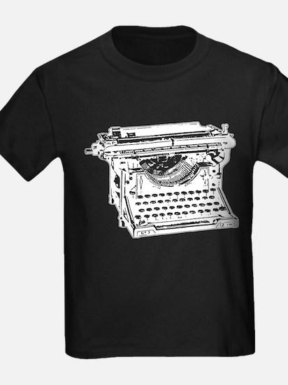 Old Fashioned Typewriter T