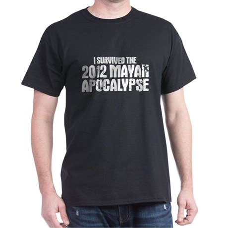 mayan apocalypse Dark T-Shirt