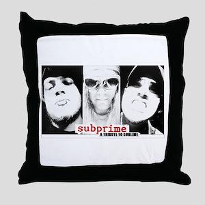 subprime Throw Pillow