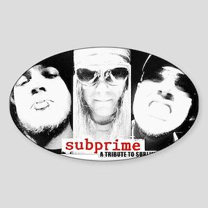 subprime Sticker (Oval)