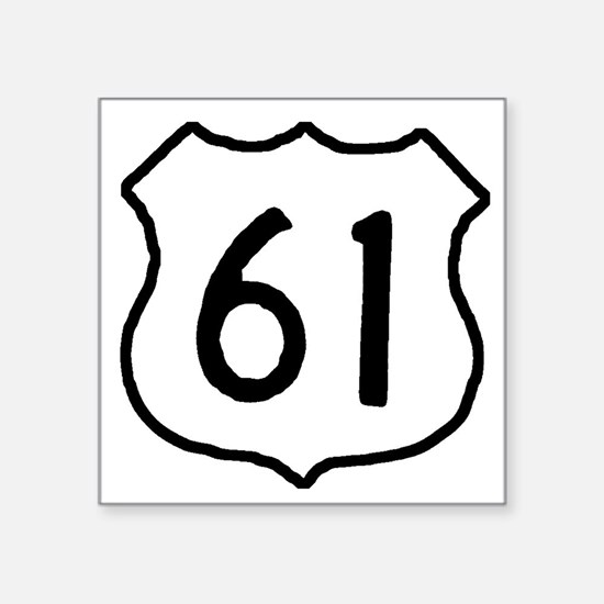 Highway 61 Rectangle Sticker