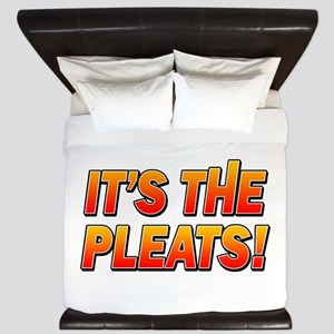 ITS THE PLEATS! King Duvet