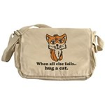 Hug a Cat Messenger Bag