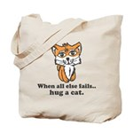 Hug a Cat Tote Bag