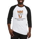 Hug a Cat Baseball Jersey