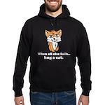 Hug a Cat Hoodie (dark)