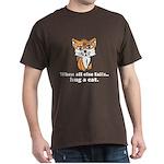 Hug a Cat Dark T-Shirt