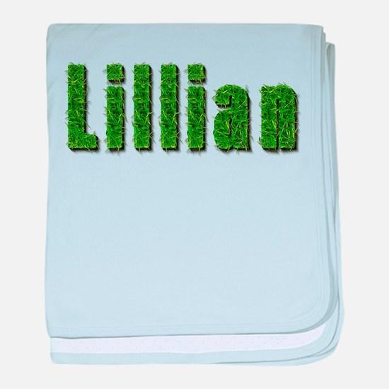 Lillian Grass baby blanket