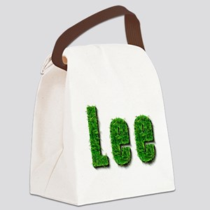 Lee Grass Canvas Lunch Bag