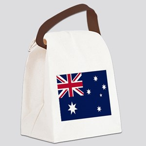Australia Flag Canvas Lunch Bag