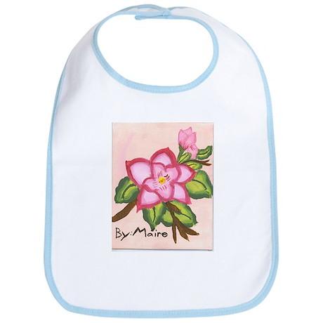 Pink Magnolia Bib