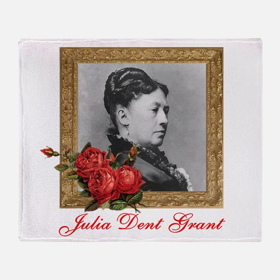 Julia Dent Grant Throw Blanket