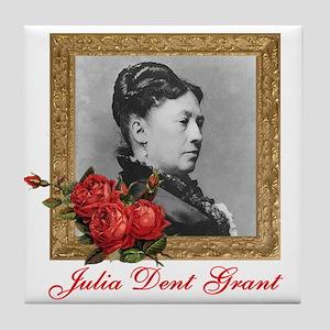 Julia Dent Grant Tile Coaster