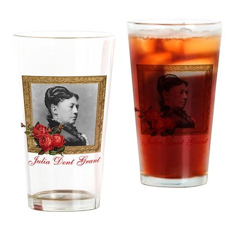 Julia Dent Grant Drinking Glass